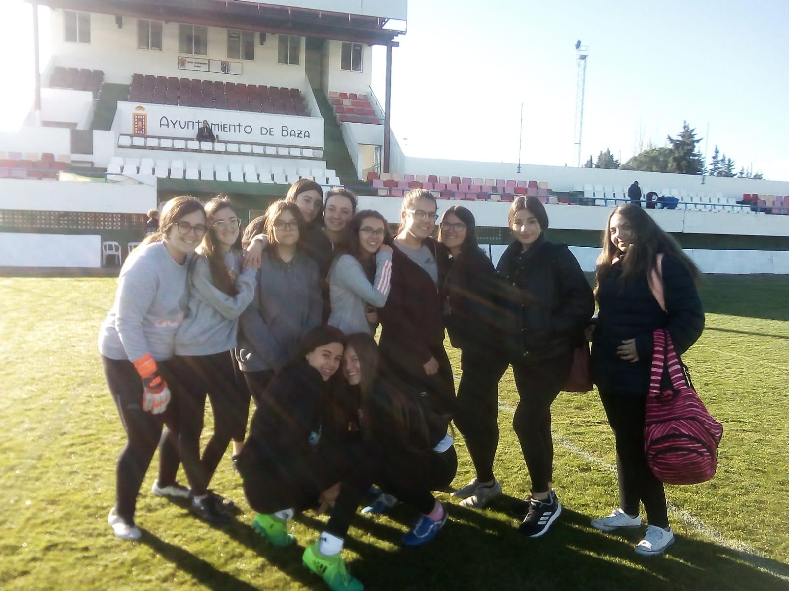 Nuestras finalistas en fútbol 7